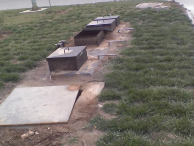 地埋式生活yabovip250案例